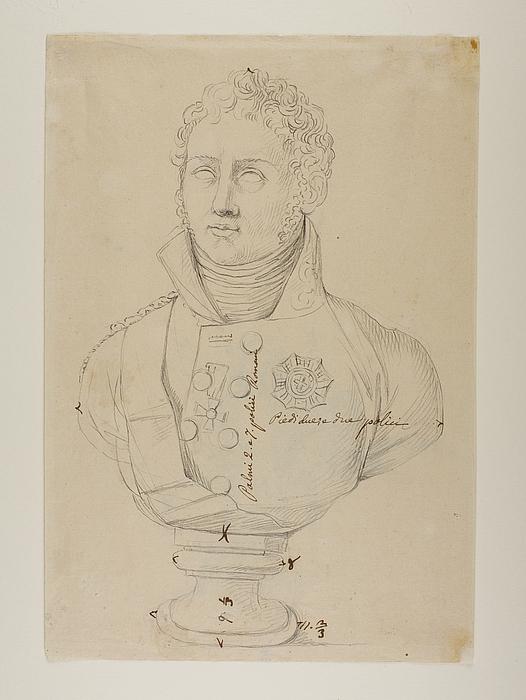 Portrætbuste af Alexander 1. (?)