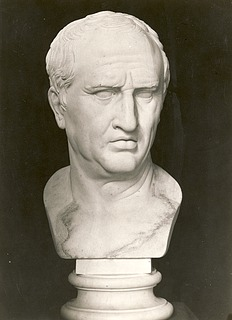 Bertel Thorvaldsen: Cicero, c. 1805-1810, marble, whereabouts unknown, photo 1927