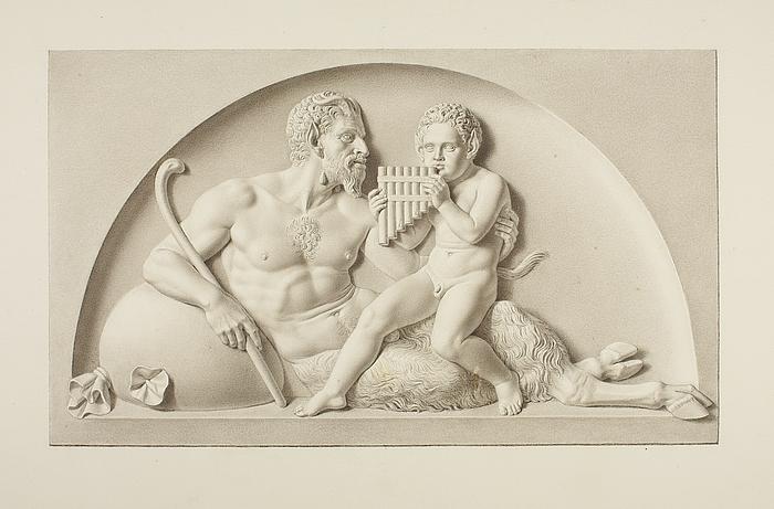 Pan og en satyr