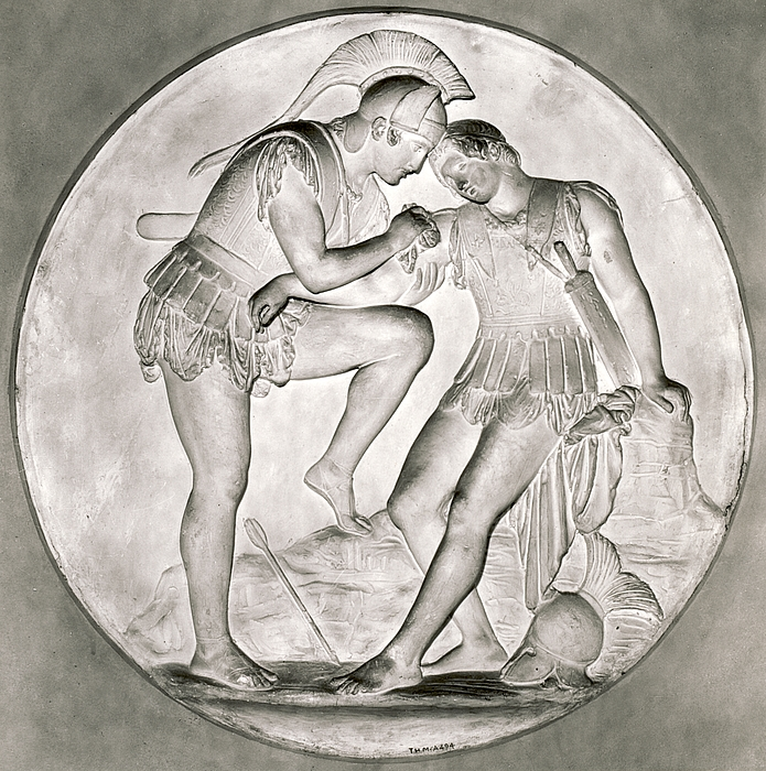 Achilleus og Patroklos