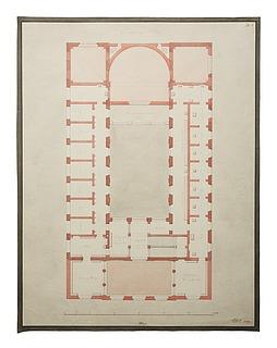 Thorvaldsens Museum, plan af første sal