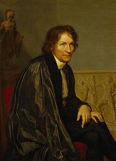 Portræt af Thorvaldsen i San Luca Akademiets dragt