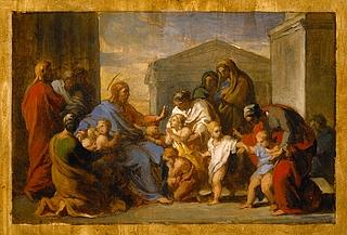 Kristus velsigner de små børn