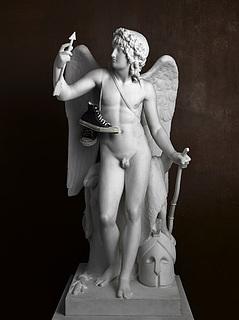 Elmgreen & Dragset: Cupid Triumphant (Sneakers), 2009
