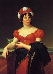 Francois Gérard: Madame de Staël (1810)