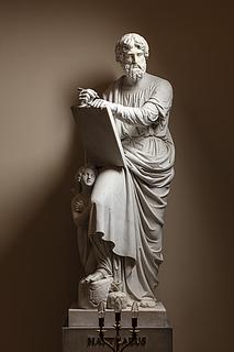 Matthæus, marmor, Vor Frue Kirke