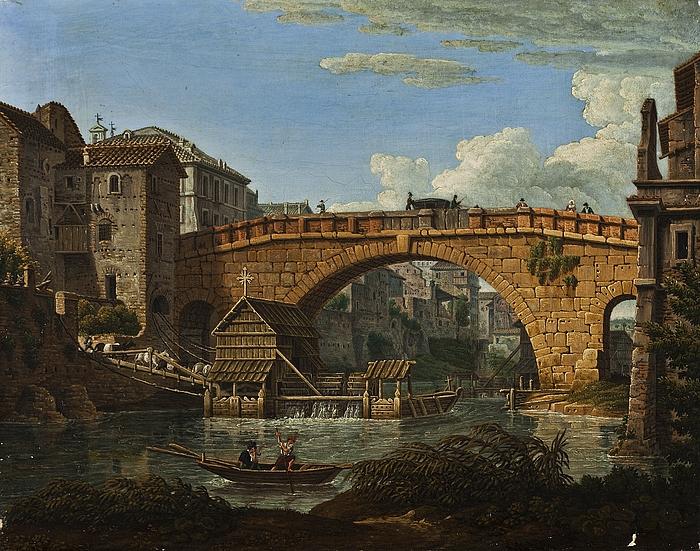 Ponte Cestio i Rom