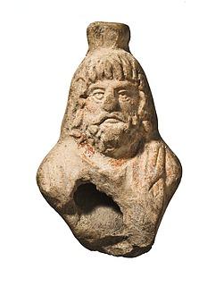 Lampehank i form af en Serapisbuste. Romersk
