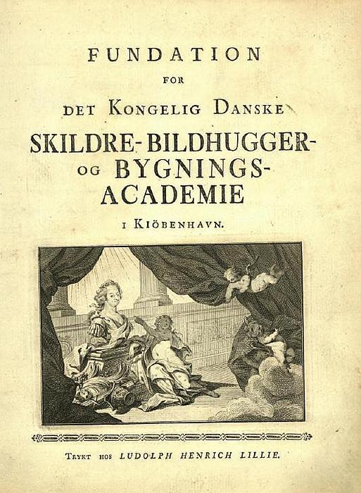 Kunstakademiets fundats 1754