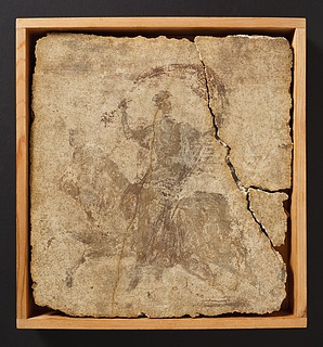 Vægmaleri med Europa og tyren. Romersk