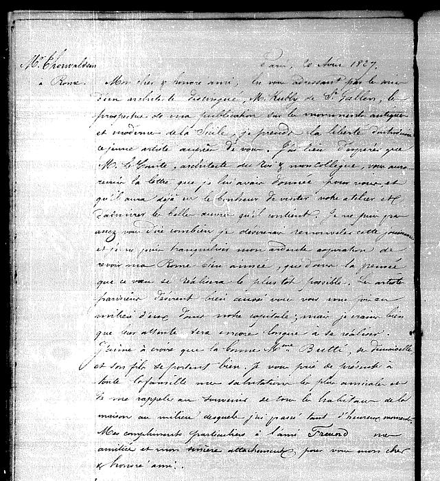 Hittorff til BT, 20.4.1827