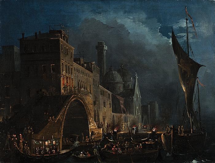 En venetiansk festaften