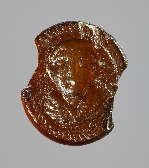 Buste af en ung mand. Romersk republikansk paste
