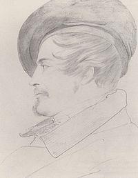 Carl Philipp Fohr: Portrært af Heinrich Immanuel Lengerich (ca. 1800)