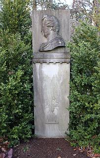 P.O. Brøndsteds grav, Assistens Kirkegård, København, foto 2016
