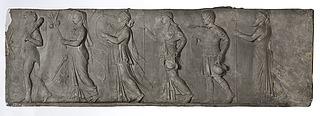 Hercules, Ceres, Apollon, Minerva, Mars og Neptun i procession