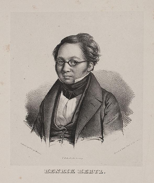 David Monies: Henrik Hertz, 1837