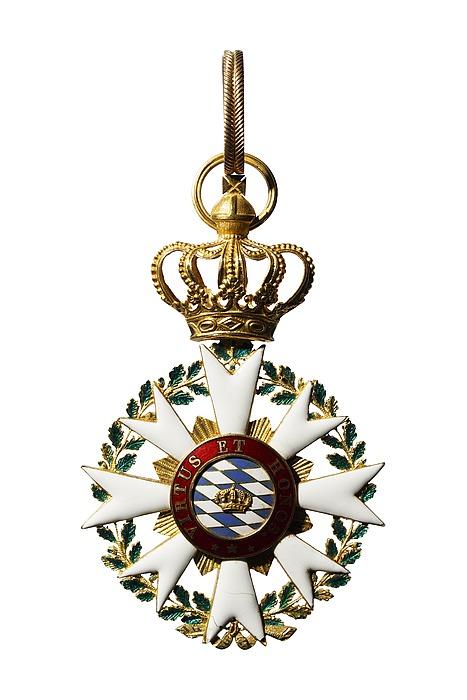 Kommandørkors til den bayerske krones civilfortjensteorden, avers