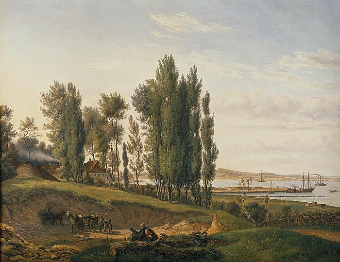 Landskab ved Svendborg Sund