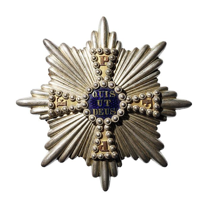 Bryststjernen til storkorset til den bayerske Skt. Michaels fortjenesteorden