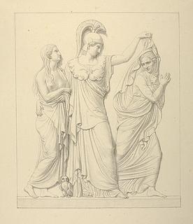 Minerva, dyden og lasten