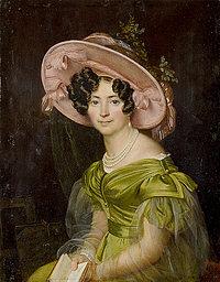 Orest Adamovich Kiprensky: Zinaida Volkonskaia (1829)