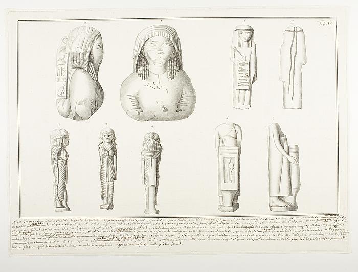 Monumenta Artis Ægyptiæ in Musæo Naniano Veneteiis Tab.IV