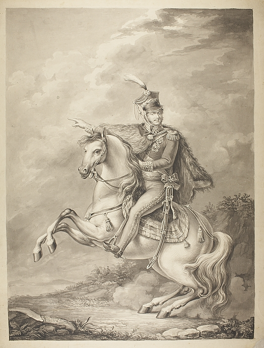 Józef Poniatowski til hest