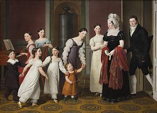 C.W. Eckersberg. Familien Nathanson