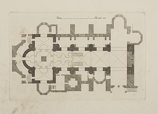 Basilika di San Francesco d'Assisi, grundplan