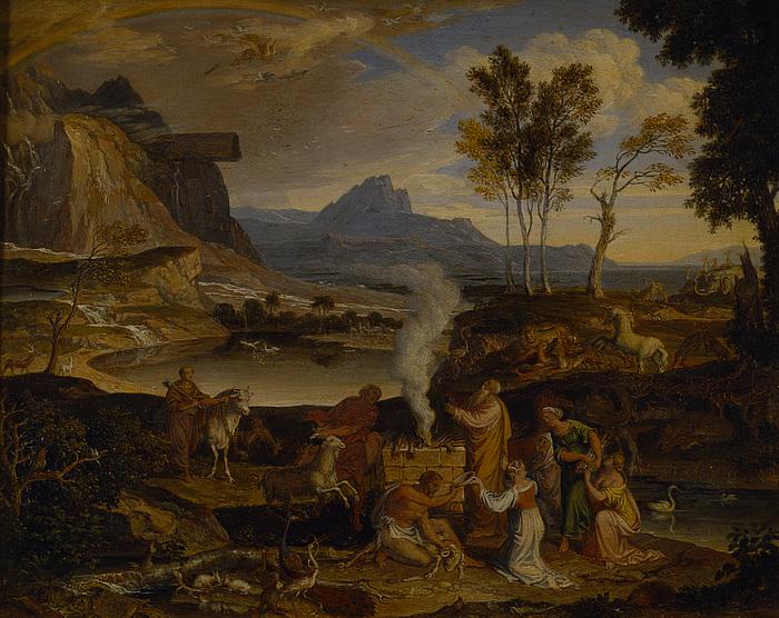 Landskab med Noahs takoffer