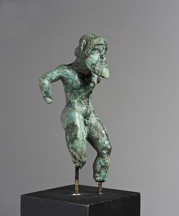 Statuette af en silen. Etruskisk