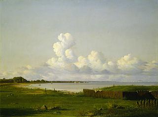 Udsigt over Øresund fra Langelinie