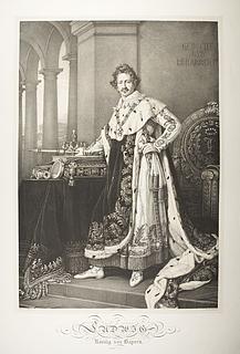 Ludwig 1. i kroningsdragt