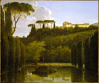 Parti af Villa Falconieris have i Frascati