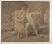 Chiron lærer Achilleus at skyde med bue