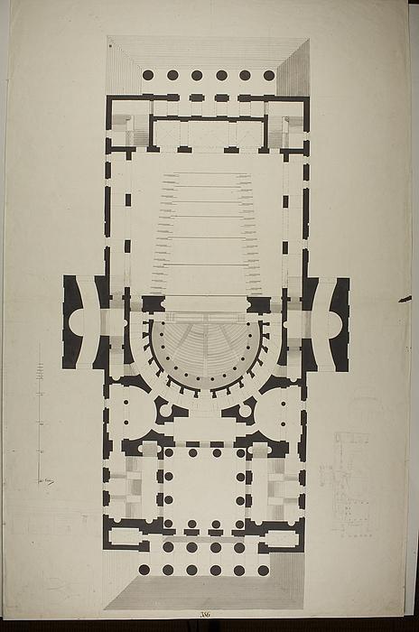 Teater i græsk stil, grundplan