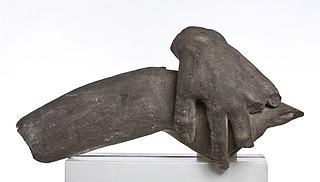Menelaos/Ajax venstre hånd og del af Patroklos' højre arm