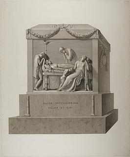 Monument over grevinde Haxo