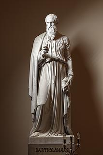 Bartholomæus, marmor, Vor Frue Kirke