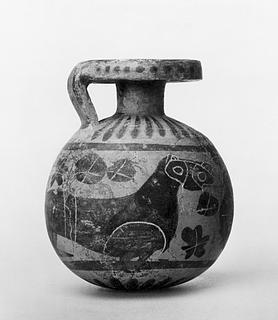 Arybal med dyrefrise. Græsk korinthisk