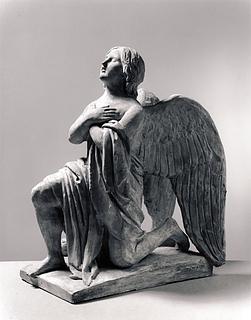 Knælende engel