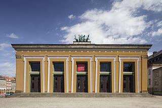 Thorvaldsens Museum, facaden mod sydvest