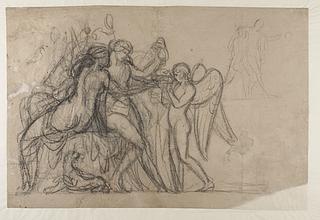 Amor hos Bacchus og Ariadne