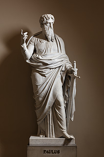 Paulus, marmor, Vor Frue Kirke