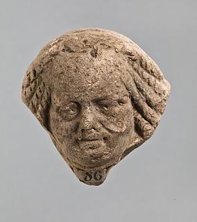 Campanarelief med mandlig maske. Romersk