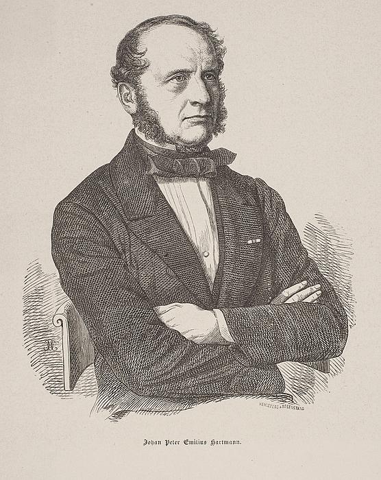 Rosenstand & Henneberg efter forlæg af Henrik Olrik: J.P.E. Hartmann