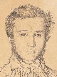 Christen Købke: Portræt af Jørgen Roed, 1837