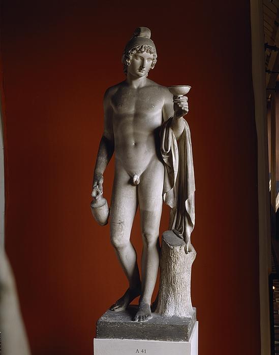 Ganymedes rækker skålen