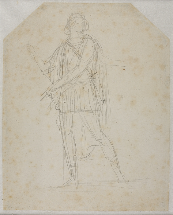 Alexander den store forledes af Thais til at sætte Persepolis i brand